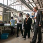 Deputy Governor of Cambodia Visiting the Factory